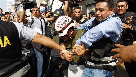 Policía captura a asesino de vigilante de galería frente a Polvos Azules (VIDEOS)