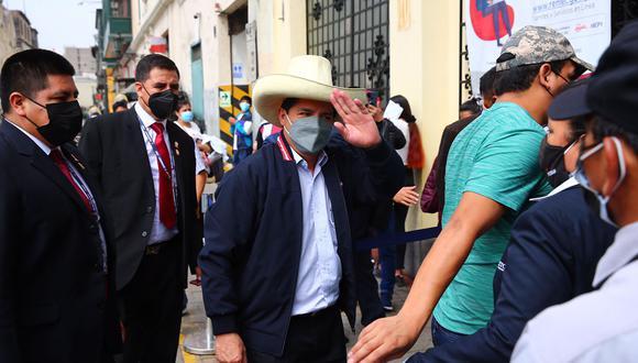 El presidente electo, Pedro Castillo, viene conformando su equipo de trabajo. (Foto: Hugo Curotto / @photo.gec)