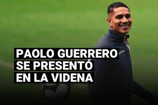 Selección peruana: Paolo Guerrero se presentó en la Videna y seguiría tratamiento de su lesión