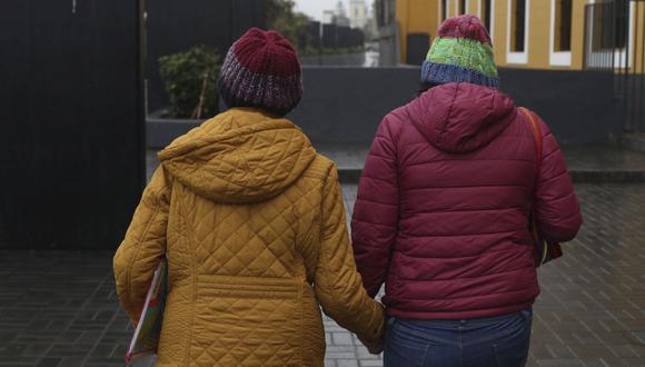 La especialista recordó que no en todos los distritos se sentirá el mismo frío, debido a que la temperatura en Lima Metropolitana está caracterizada por tener microclimas. (Foto de archivo: Rolly Reyna/GEC)