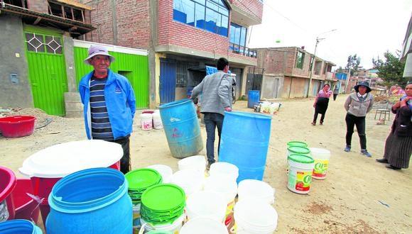 Agua debe llegar a familias que lo necesitan. Fotos\Caleb Mendoza.