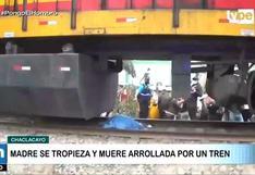 Chaclaclayo: Madre muere arrollada por tren tras vacunarse contra la COVID-19