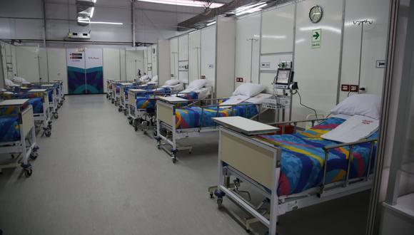 Cuenta con 50 camas de hospitalización, equipadas cada una con oxígeno. (Foto: Hugo Supo)