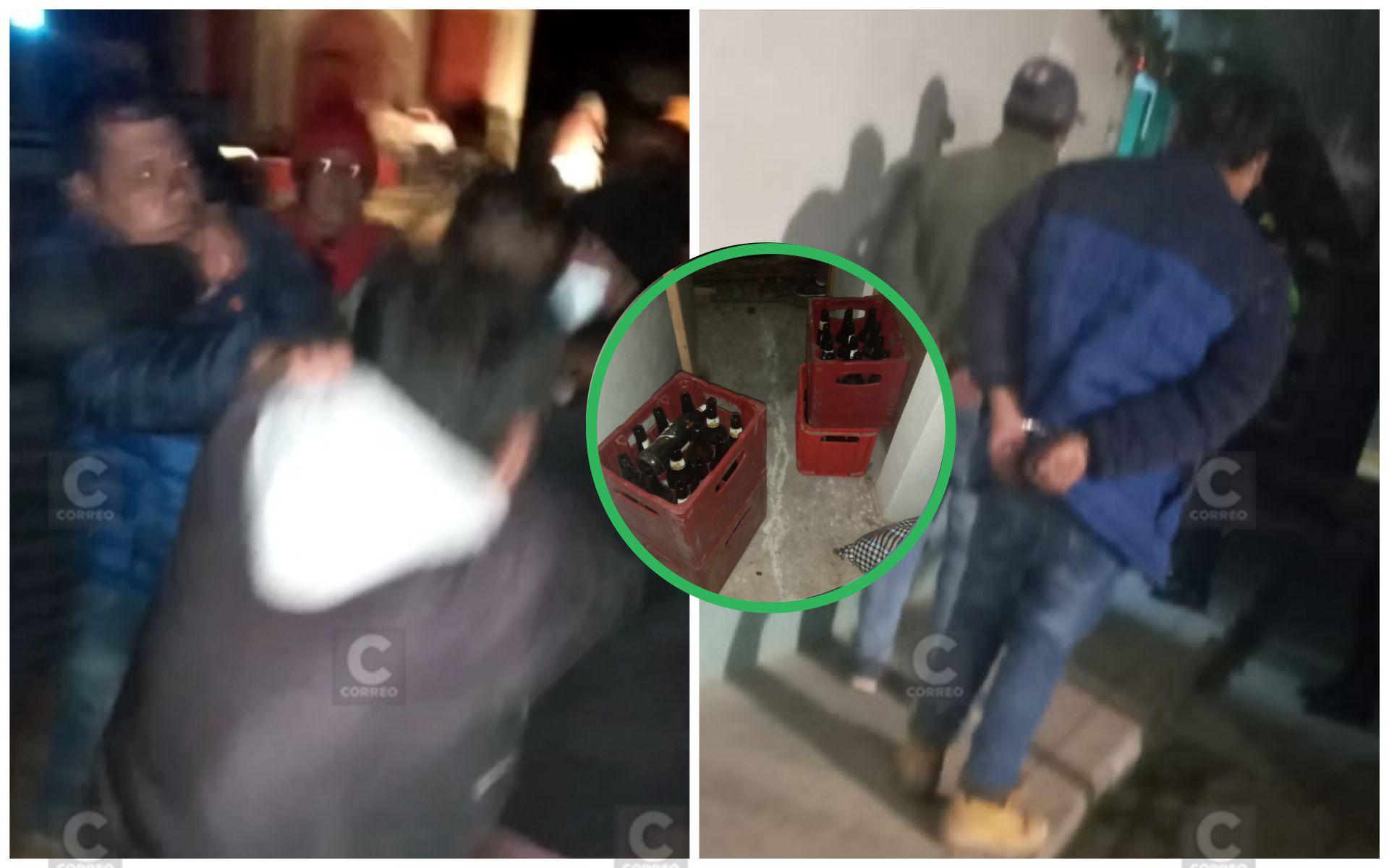 cuatro-serenos-heridos-al-ser-agredidos-por-asistentes-a-techado-de-casa-en-jauja-video