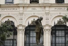 Defensoría del Pueblo rechaza agresión a periodista por miembro de prensa de Palacio de Gobierno