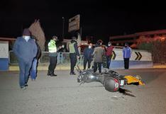 Peatón y motociclista mueren en trágico accidente en Juliaca