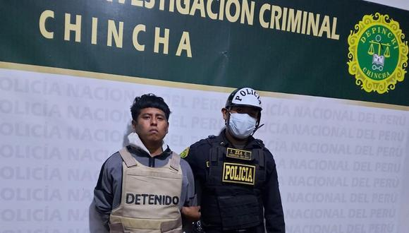 Cae presunto autor de asalto y robo a distribuidora de gaseosas en Chincha.