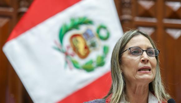 La presidenta del Congreso, María del Carmen Alva, respondió sobre incidente con Francisco Sagasti. (Foto: Congreso)