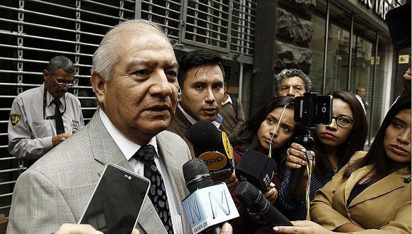 Wilfredo Pedraza denuncia arbitrariedad en caso de Ollanta Humala y Nadine Heredia