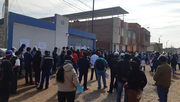 Reclamaron la falta de obras y trabajo en el distrito andino, pese a la necesidad de los pobladores. (Foto: Correo)