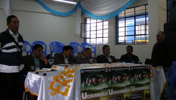 Protagonistas de masacre de Uchumarca se reunen