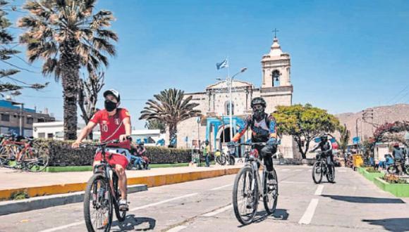 Municipios distritales de Hunter, Socabaya y Yura, así como la gerencia de turismo organizaron la actividad. (Foto: Difusión)