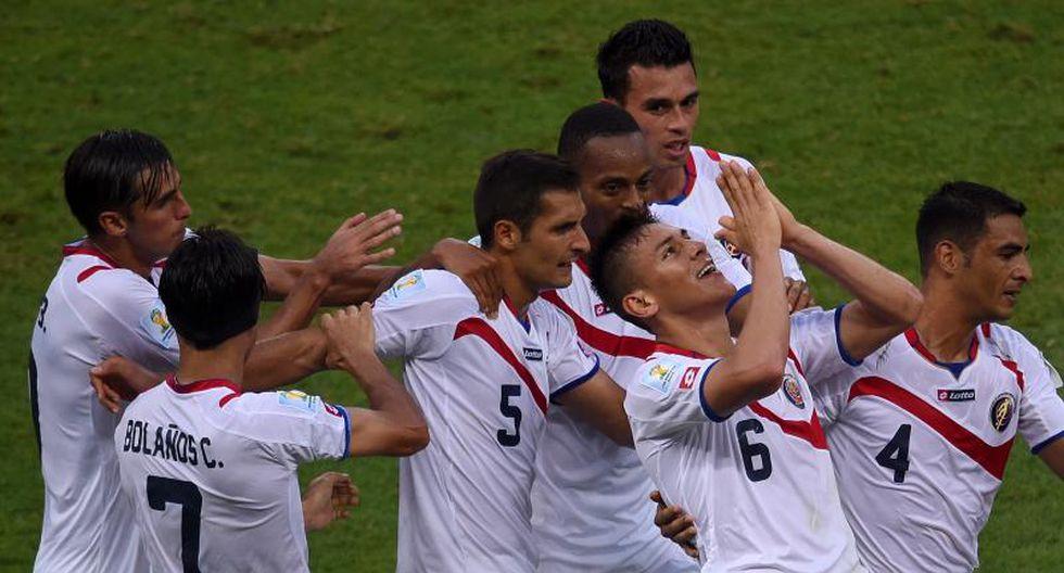 Brasil 2014: Costa Rica espera sorprender de nuevo frente a Italia