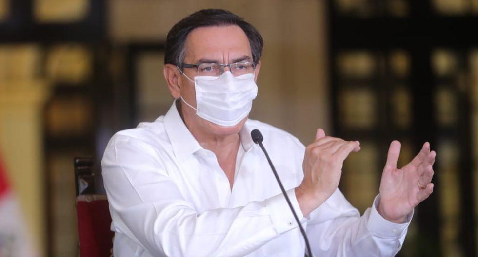 """""""Pedimos facultades en 11 aspectos, 11 criterios, pero nos han dado solo de 10. Hay un aspecto sumamente relevante que el Congreso retiró del pedido de facultades"""", afirmó el presidente Martín Vizcarra."""