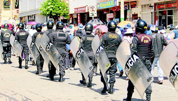 Mítines, marchas y debates de candidatos contarán con el debido resguardo policial