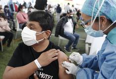 Más de siete millones 711 mil de peruanos recibieron al menos una dosis de la vacuna contra la COVID-19