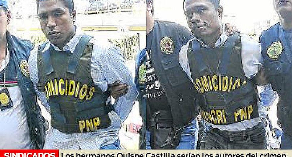 Policía detiene a los presuntos asesinos de la joven Nickol Dayanne