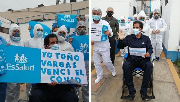 Toño Vargas no confirmó si iba a participar en los próximos partidos de la Selección. (Foto: Twitter @EsSalud)