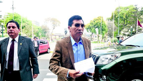 Moisés Mamani no declaró ante la Fiscalía por caso de Lavado de Activos