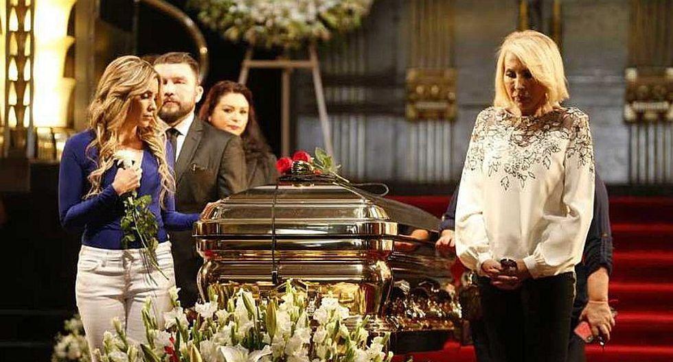 Laura Bozzo y los famosos que acudieron al homenaje a José José