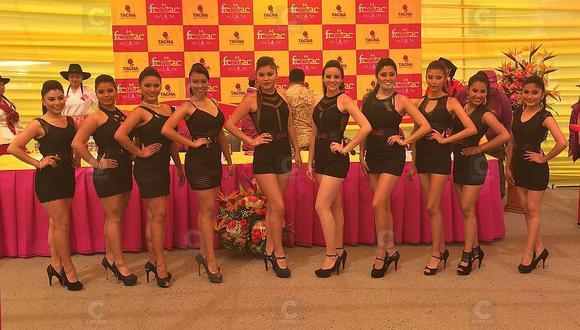 Estas son las doce candidatas al cetro de Miss Feritac 2016