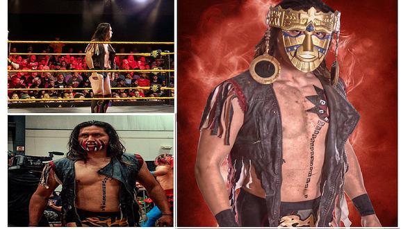 WWE: Luchador peruano debuta como 'El último guerrero inca' (VIDEOS y FOTOS)