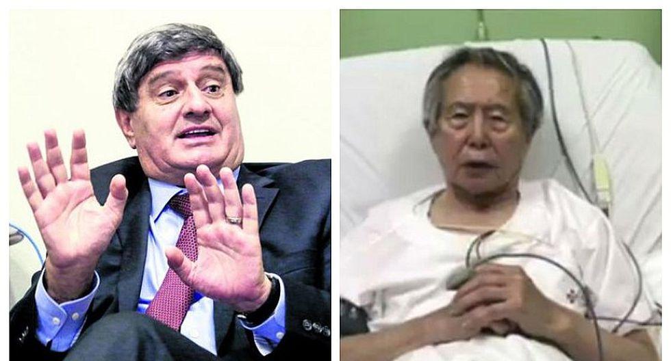 """Raúl Diez Canseco sobre Alberto Fujimori: """"Lo hubiera mandado a su casa hace rato"""""""