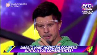 """Mario Hart y su sentido mensaje a Yaco Eskenazi tras su salida de 'EEG': """"Eres una gran persona"""" (VIDEO)"""