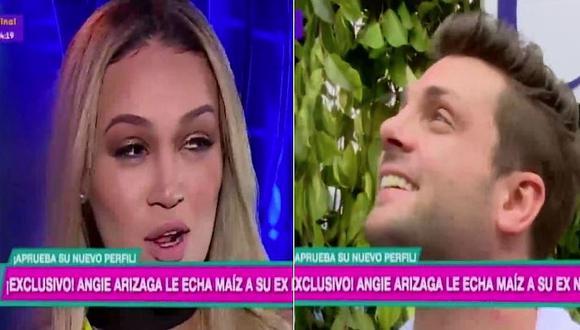 """Angie Arizaga sobre 'nueva' nariz de Nicola Porcella: """"No le queda nada mal"""" (VIDEO)"""