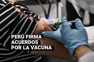 MINSA: Perú firmó acuerdos para la compra de 11 millones de dosis de vacuna contra la COVID-19