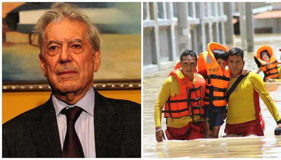 Mario Vargas Llosa y su sentido mensaje de solidaridad para los piuranos (VIDEO)