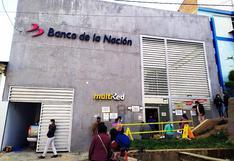 Huancavelica: Piden que se evite aglomeraciones en puertas de bancos
