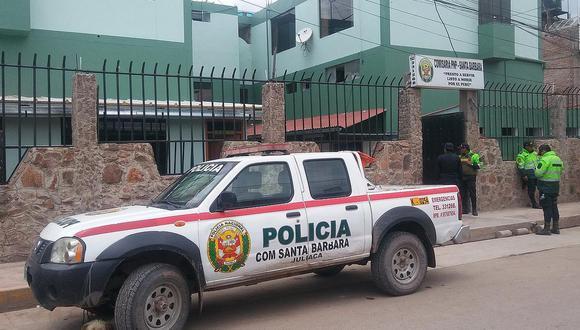 Los efectivos detuvieron al suboficial PNP Abelardo Condori Huaylla (19). (Foto: Referencial)
