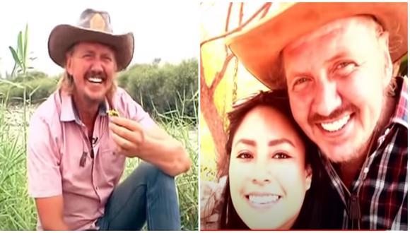 'Gringo Karl'reaparece en TV y presenta a su nueva pareja de Huancayo. (Foto: Al sexto día)