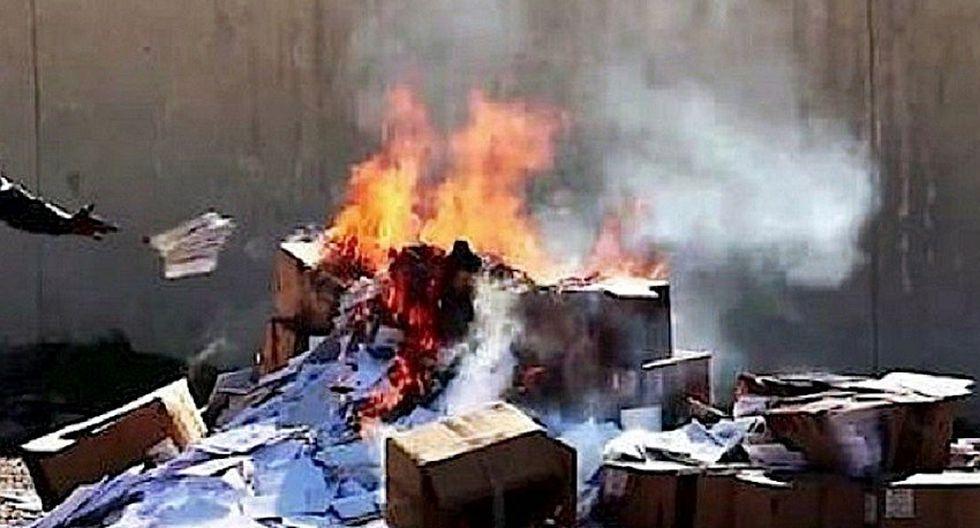 Irak: más de un millón de libros han sido quemados por los yihadistas