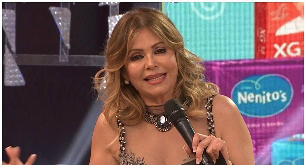 Gisela Valcárcel anunció que 'El Gran Show' no va más en la televisión (VIDEO)