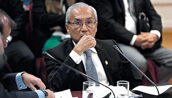 Pedro Chávarry fue citado por la Subcomisión de Acusaciones Constitucionales para el 7 de agosto (Foto: Renzo Salazar/ GEC)