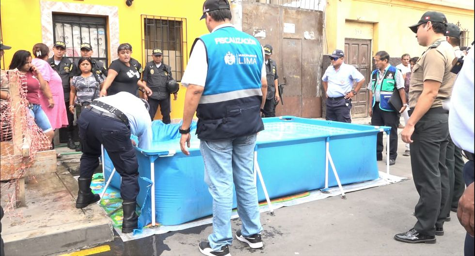 La intervención se realizó en conjunto con la Policía Nacional del Perú en las cuadras de los jirones Coronel Zubiaga, Manuel Pardo y  Huánuco. (Foto: Municipalidad de Lima)