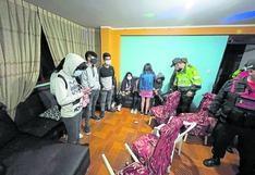 Intervienen a más de 30 personas en fiestascon licor desde el inicio de la Ley Seca en Huancayo