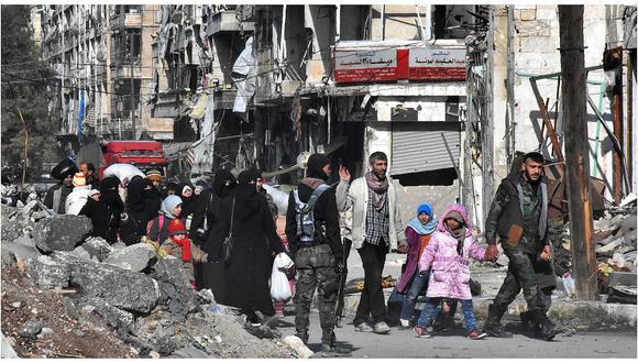 Suiza anuncia que recibirá 2.000 refugiados sirios en los próximos dos años