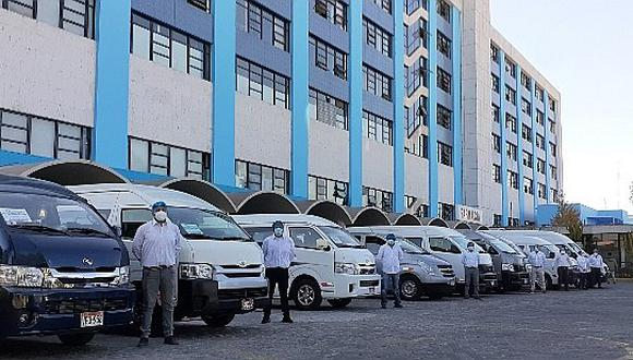 EsSalud de Arequipa inmunizó a personal entre febrero y marzo