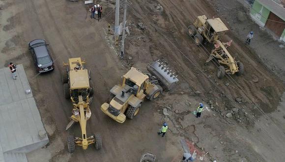 Las labores, que se iniciaron en abril, incluyen la construcción de más de 16 mil m2 de pistas de pavimento flexible, con una carpeta asfáltica de tres pulgadas. (Foto: Municipalidad de Lima)