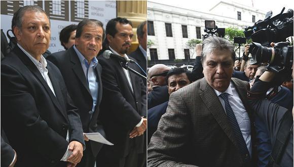 Arana, Morales y Rozas se reunirán con autoridades uruguayas para tratar asilo a García