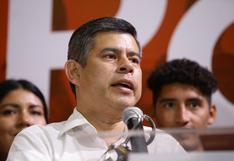 """Luis Galarreta sobre Rafael López Aliaga: """"Nosotros no compartimos ninguna opinión relacionada a violencia"""""""
