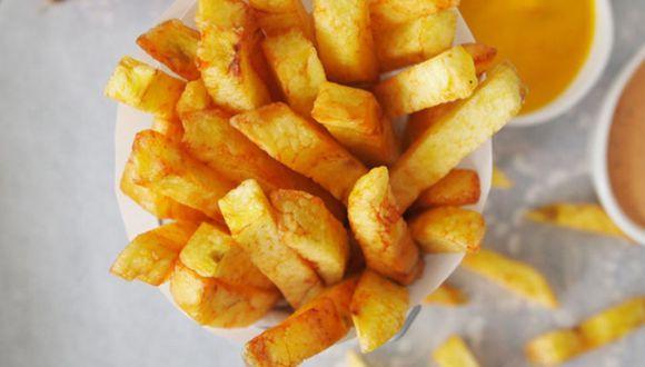¿Cuál es secreto para que las papas fritas se cocinen crovantes?