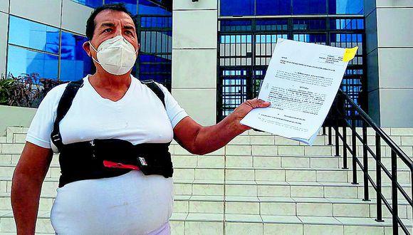 Ica: Ciudadano interpone denuncia penal por contaminación