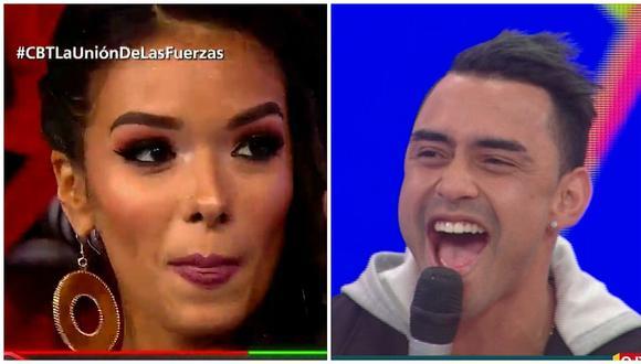Shirley Arica quiso dejar mal a Diego Chávarri, pero él le da épica respuesta (VIDEO)