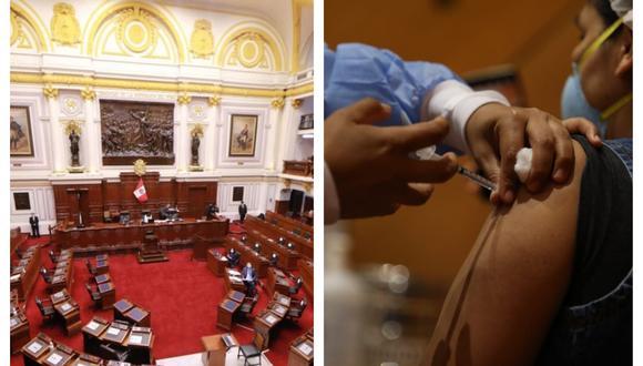 Congresista de Fuerza Popular pide ser prioridad en proceso de vacunación. Collage: Correo / GEC