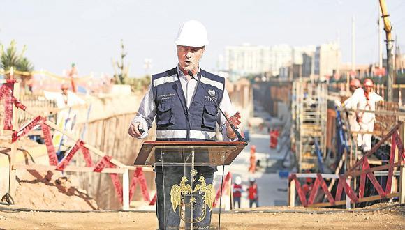 Alcalde Jorge Muñoz: Obras abandonadas en la Costa Verde serán ejecutadas por Lima