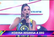 Esto es Guerra: Korina Rivadeneira vuelve a la competencia